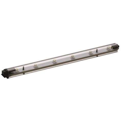 lithonia cabinet lighting lithonia lighting 6 in led clear cabinet light stk6 m12 the home depot