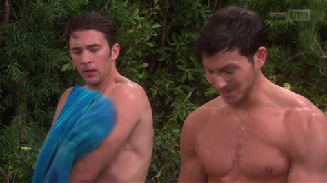 Rob Wilson And Billy Flynn Shirtless In Days Of Our Lives Auscaps