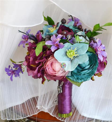 Handmade Artificial Flowers - handmade artificial flowers wedding floral vintage garden