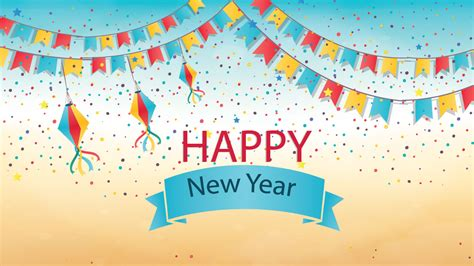 hd happy new year desktop wallpapers one hd wallpaper