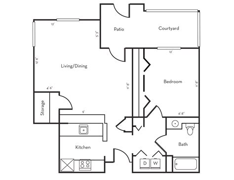 Floor Plans Free by Draw Simple Floor Plan Free Home Design