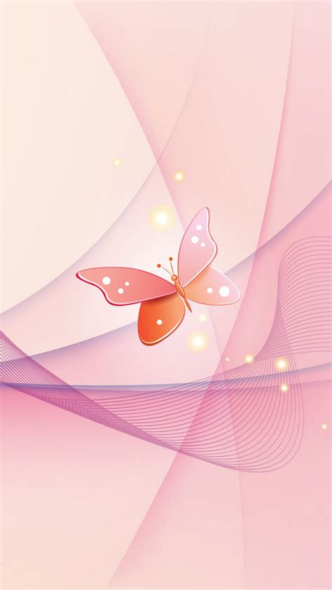 Sweety Gold S36 Free 6 pink butterfly iphone wallpaper iphonex スマホ壁紙 待受画像ギャラリー