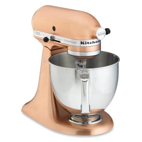 kitchen aid stand mixer kitchenaid 174 metallic series 5 qt stand mixer williams