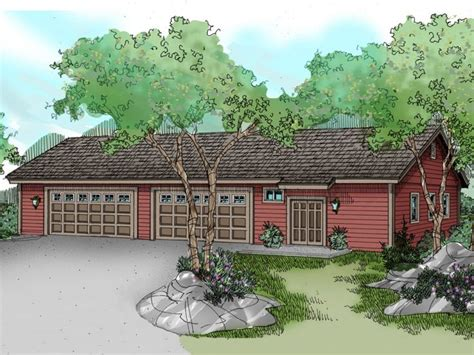 8 car garage 8 car garage plans 8 car garage plan with 4 tandem bays
