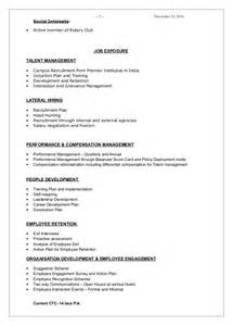 Sample Resume Templates Free Download cv monika joshi