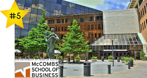 Ut Mba Average Gmat by Of Mccombs School Of Business E Gmat