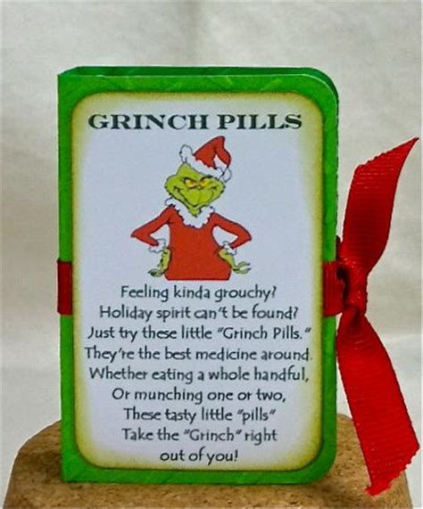 snowman poops grinch pills christmas gift ideas
