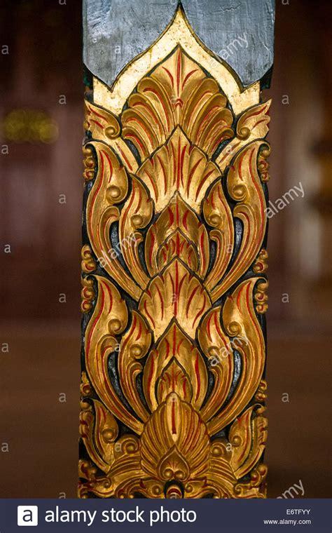 lotus design indonesia yogyakarta java indonesia lotus flower design carved on