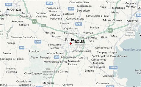 padua map padua location guide