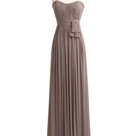 Bridesmaid Dress Material Options - bridesmaid dresses chiffon bridesmaid dress grey