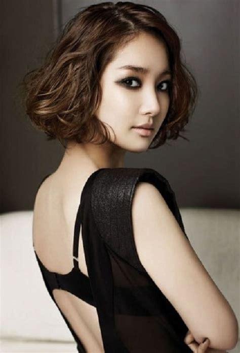 easy short korean curly hairstyles latest hair styles