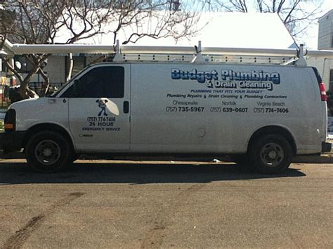 Plumbing Company Names by Budget Plumbing Drain Cleaning In Norfolk Va Find
