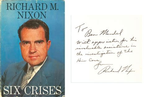 richard nixon the books richard m nixon autographed book