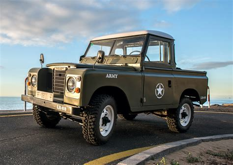 land rover santana 1975 land rover santana 88 especial for sale on bat