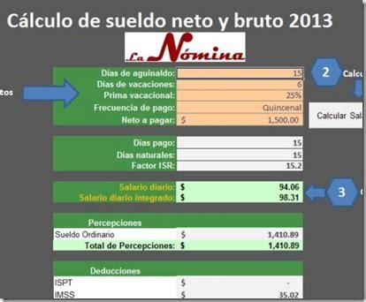 calculo de cuotas imss 2013 en excel impuestos y excel el conta punto com p 225 gina 3