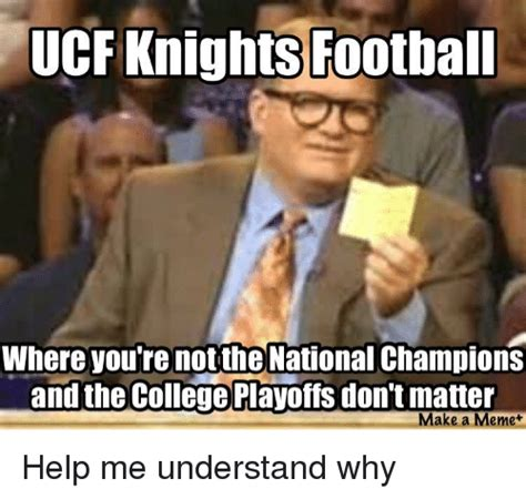 To Casey Youre Not The by Ucf Knights Foothall Where You Re Not The National