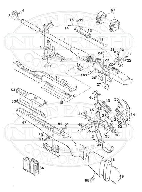mini 14 parts diagram mini 14 ranch ser580 accessories numrich gun parts