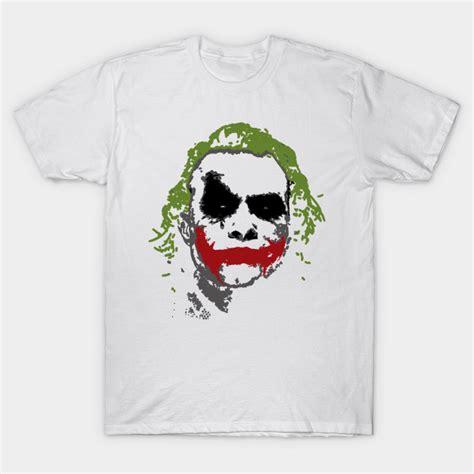 Tshirt Joker the joker joker t shirt teepublic