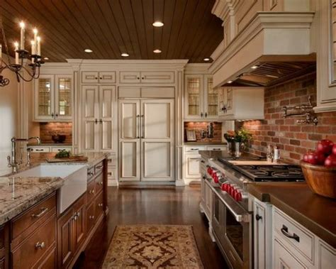 kitchen brick backsplash ideas 30 super practical and really stylish brick kitchen