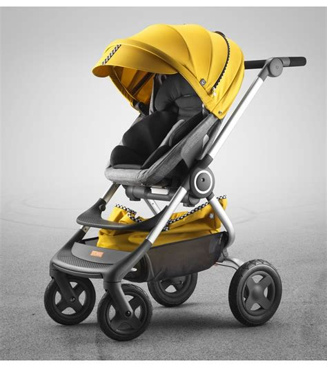 Hair Style Kit Ride by Stokke Scoot Style Kit Racing Yellow