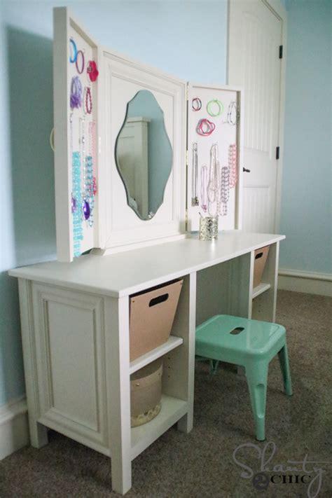 Diy Child Vanity by Diy Vanity Shanty 2 Chic