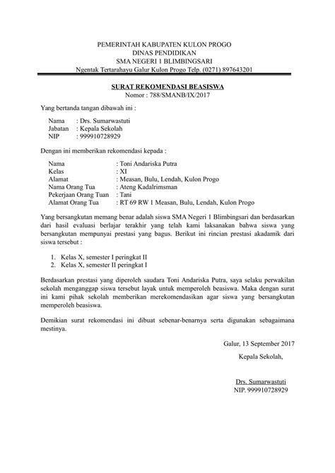 format cv beasiswa contoh surat lamaran format doc job seeker