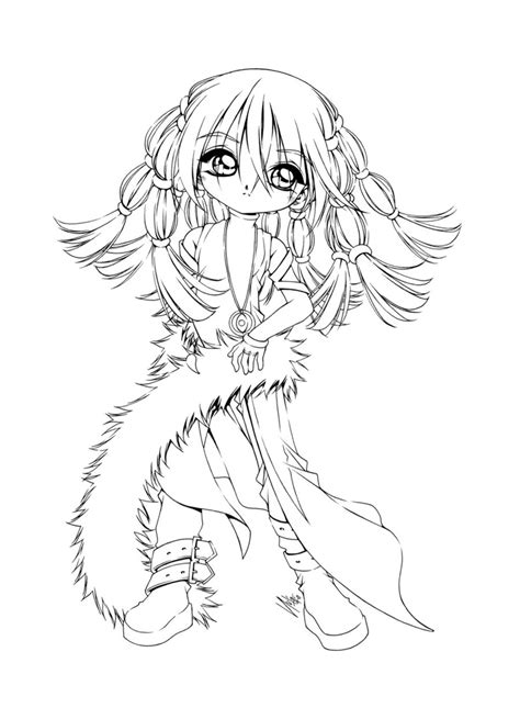 chibi coloring pages for adults 742 best images about coloring deviantart on pinterest