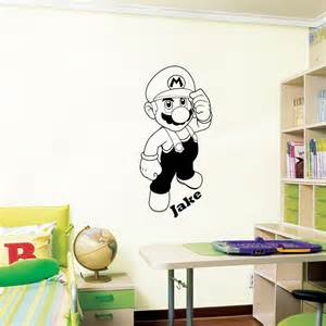 mario wall decal art sticker children nursery stickers super perfect for kids enjoy the latest and