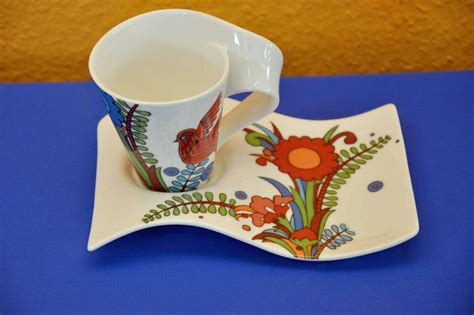 villeroy boch villeroy boch newwave acapulco coffee cup with saucer kusera