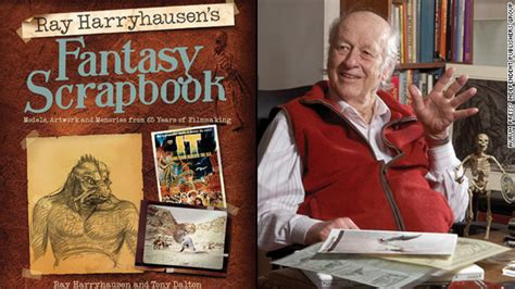 film fantasy scrapbook the throwback ray harryhausen s fantasy scrapbook the