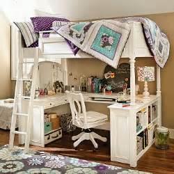 Loft Bed Vanity Desk Pottery Barn Chelsea Vanity Desk Loft Bed Bedroom