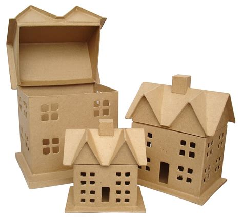 Paper Houses Craft - paper house craft house