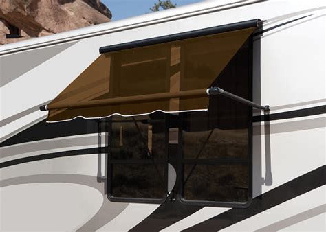 motorhome window awnings replacement window awning canopy full view made in usa