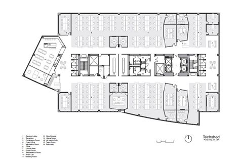 Building A House Floor Plans gallery of techshed garcia tamjidi architecture design 13