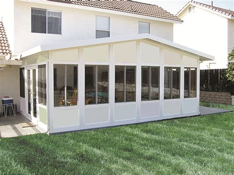 enclosed patio cost california patio enclosures patio