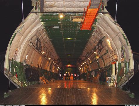 Antonov An 225 Mriya Interior by Airliners Net