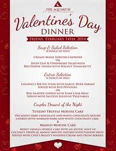 7 best images of valentine printable menu templates