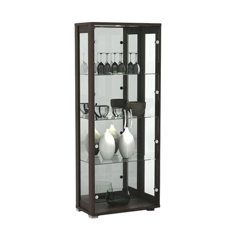 Lemari Display jual pro desain antony lemari display espresso 2 pintu
