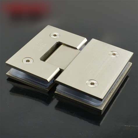Frameless Shower Door Hinges by 180 Degree Wall Mount Glass Hinge Frameless Shower Door