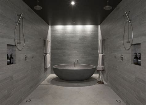 Bathroom Wall Covering Ideas by Concrete Hotel Decor In Canberra Interiorzine
