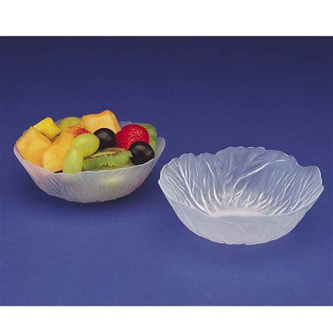 small plastic bowl crystalike lettuce leaf small plastic bowl halloween