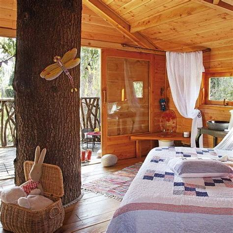 Home Tips Curtain Design Fabulous Kids Treehouse Design Beautifully Integrated Into