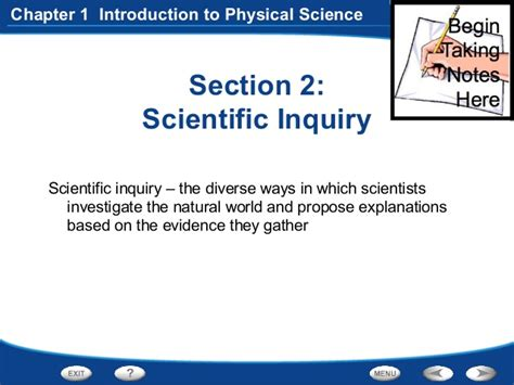 Section 2 Review Physical Science Answers by Physical Science Chapter 5 Section Reviews Answer