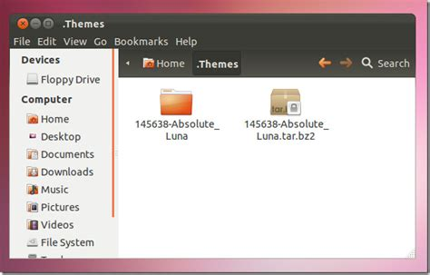changing themes ubuntu how to install gnome themes in ubuntu 11 10 roshan book