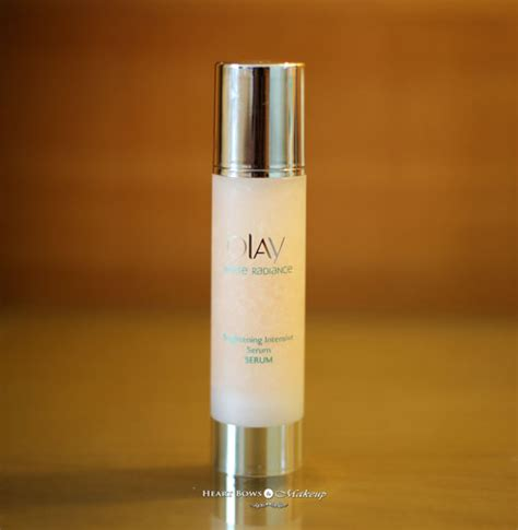 Olay White Radiance Intensive Brightening Serum new skincare routine ft olay white radiance range