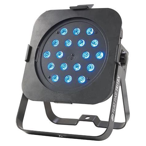 low profile can lights dj flat par tri18x low profile led par can light
