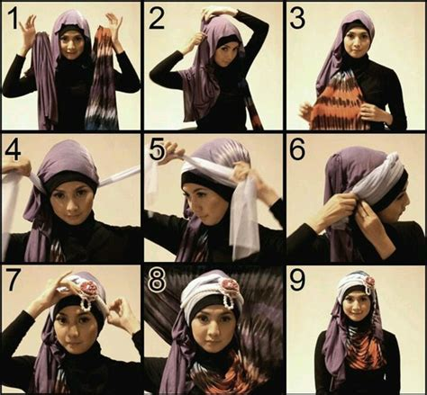hijab styles step  step style arena
