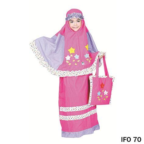 Mukena Murah Cotton mukena cotton ungu pink gudang fashion wanita