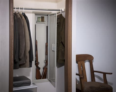 in wall gun cabinet in wall security cabinet 55 quot