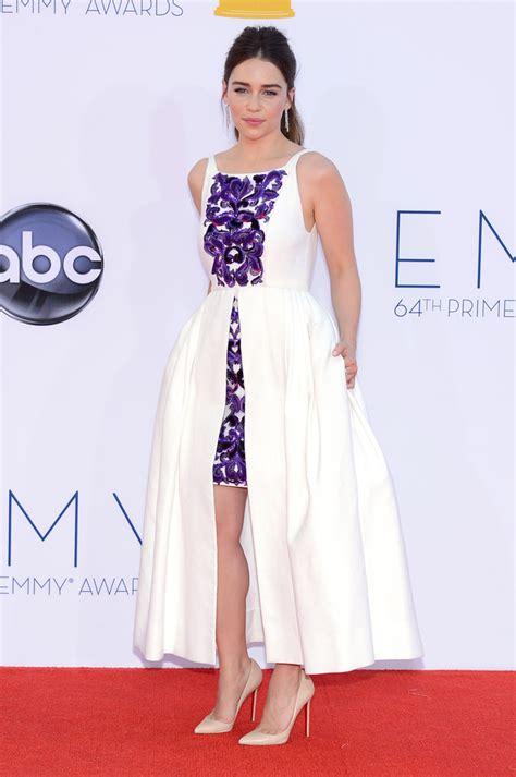 Dress Emilia emilia clarke fishtail dress emilia clarke looks stylebistro